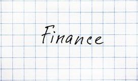 Слово экономики Стоковая Фотография RF