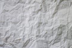сложенная бумажная белизна Стоковая Фотография RF