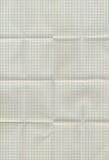 Сложенная миллиметровка Стоковые Фото