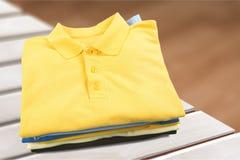 Сложенная одежда стоковое фото
