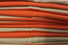 сложенные одежды Стоковая Фотография