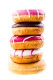 Сложенные donuts Стоковые Изображения