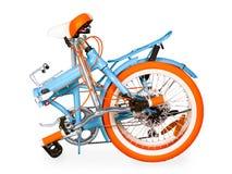 Сложенный велосипед Стоковые Изображения