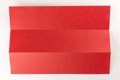 1/3 сложенных красных цветов Стоковые Изображения RF