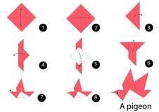 Сложите бумагу Стоковые Фотографии RF