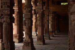 сложное minar qutub Стоковые Фотографии RF