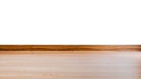 Слоистые края древесины настила и teak Стоковые Фотографии RF