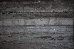 Слои бетонной стены Стоковое Фото