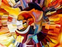Слои внутренней краски Стоковые Изображения