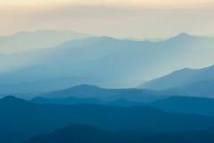 Слои горы Стоковое Изображение