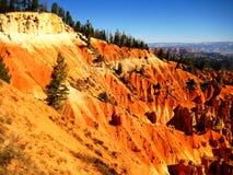 Слои каньона Bryce геологохимические Стоковая Фотография