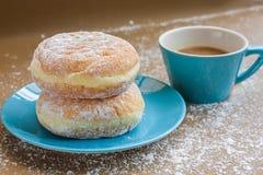 Слойка ванили хлеба заполненная завалкой cream Стоковые Изображения