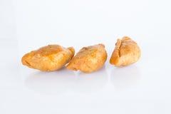 Слойка карри (тайский десерт) Стоковые Фото