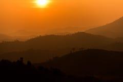Слой горы Стоковое Изображение RF