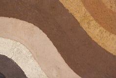 Слой почвы подземный для предпосылки Стоковые Фотографии RF