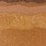 Слой почвы подземный Стоковое Фото