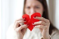 Сломанное сердце стоковые фото