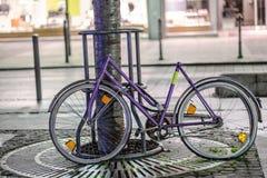 Сломанный велосипед Стоковая Фотография