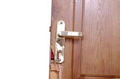 сломленная дверь Стоковые Фото