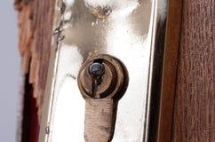 сломленная дверь Стоковые Изображения RF