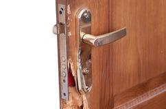 сломленная дверь Стоковое Изображение RF