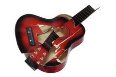 сломленная гитара Стоковая Фотография