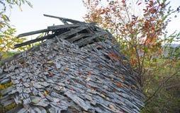 сломленная крыша Стоковая Фотография RF