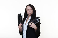 Сломленная клавиатура Стоковое Изображение