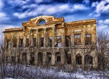 сломленная дом старая Стоковое Изображение