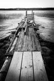 сломленная пристань Стоковое Фото