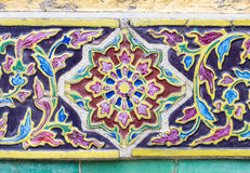 Сломленная плитка цветка Стоковое Изображение