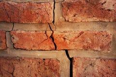 сломленная стена Стоковые Изображения