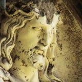 Сломленная сторона Иисуса Христоса Стоковое фото RF