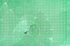 Сломленное декоративное и лоснистое окно стеклянного блока как текстура или для предпосылки предпосылка геометрическая Стоковая Фотография