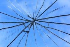 сломленное зеркало Стоковые Фото
