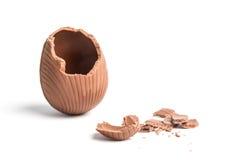 Сломленное пасхальное яйцо Стоковое Изображение RF