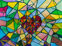 сломленное сердце Стоковые Изображения