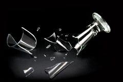 Сломленное стекло питья Стоковая Фотография RF