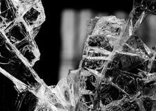 сломленное стекло Стоковые Изображения RF