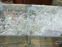 сломленное стекло Стоковые Фотографии RF