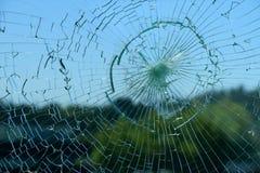 сломленное стекло стоковые изображения