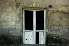 сломленные двери Стоковое фото RF