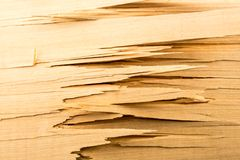 Сломленные деревянные планки Стоковое Изображение