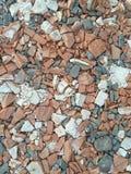 Сломленные кирпичи стоковые фотографии rf