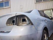 сломленный автомобиль Стоковая Фотография