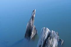 Сломленный деревянный корабль Стоковая Фотография RF