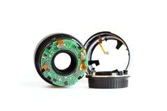 Сломленный объектив фотоаппарата Стоковое фото RF