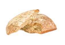 Сломленный домашний хлеб Стоковое Изображение