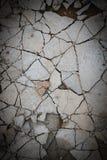 Сломленный пол бетона цемента стоковые фото
