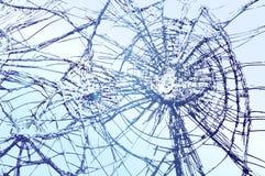 Сломленный стеклянный вектор Стоковая Фотография